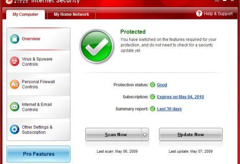 Trend Micro Internet Security 2009 - Recensione e scheda tecnica