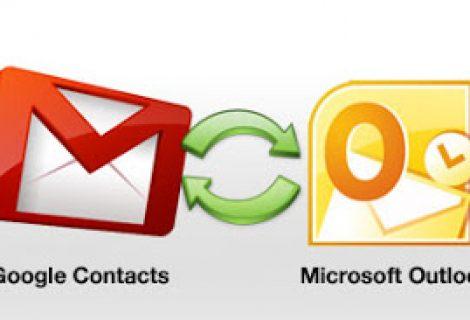 Sincronizzare i contatti Google e Outlook