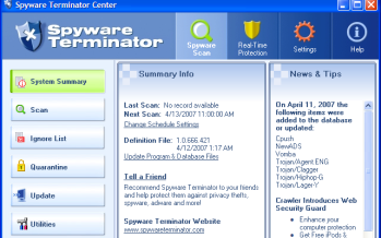 Spyware Terminator 2.8.2.192