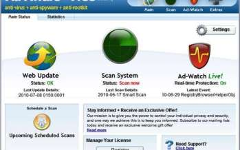 Ad-Aware Free Internet Security Recensione