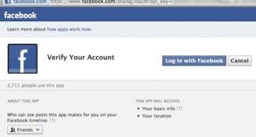 """Facebook. In azione link falso """"verifica il mio account"""". Cosa fare"""