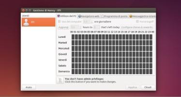 Nanny: Controllare l'uso del Pc da parte dei nostri Figli con Ubuntu
