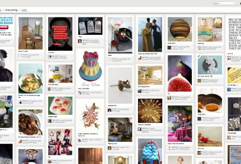 Ecco Pinterest, il Social Network basato su immagini