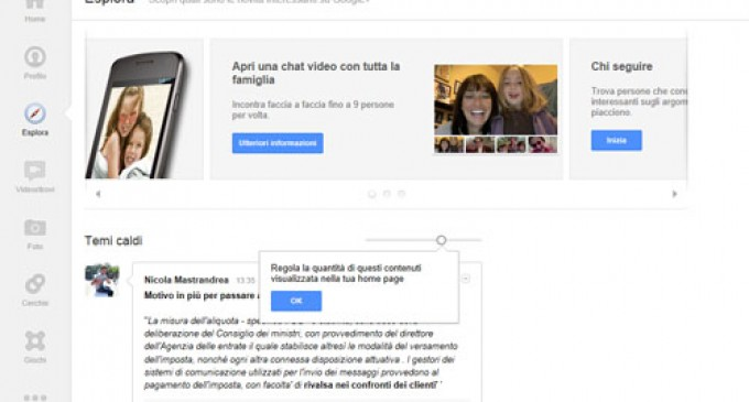 Google+ si aggiorna ecco le novità – Video