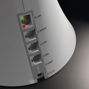 I Router possono avere diverse opzioni, fra cui un grande numero di porte in entrata