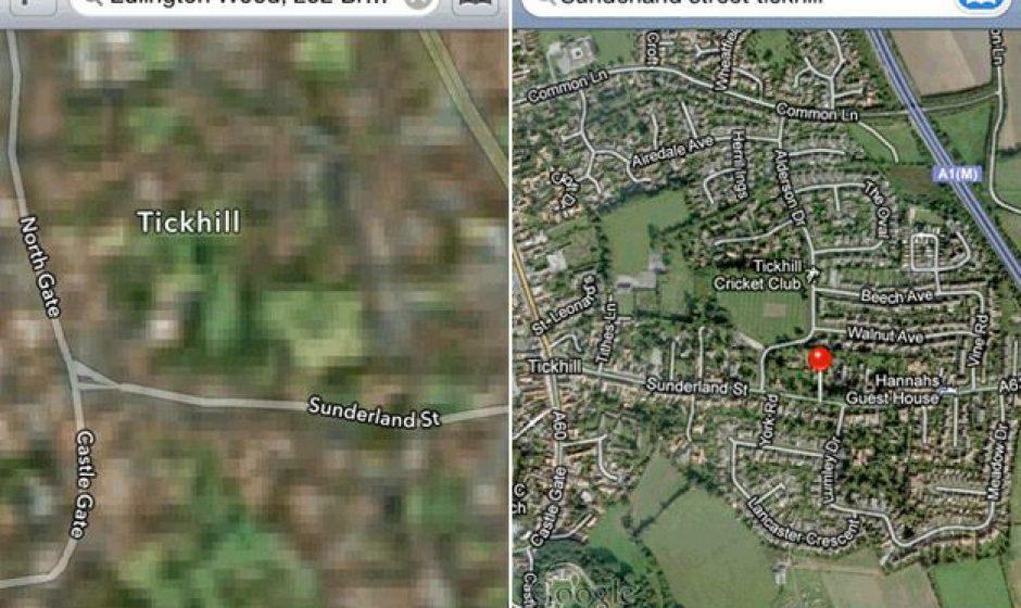 Pubblicità contro Apple Maps: figuraccia Google
