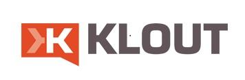 Il logo di Klout, piattaforma che cerca di misurare l'influenza sui social media