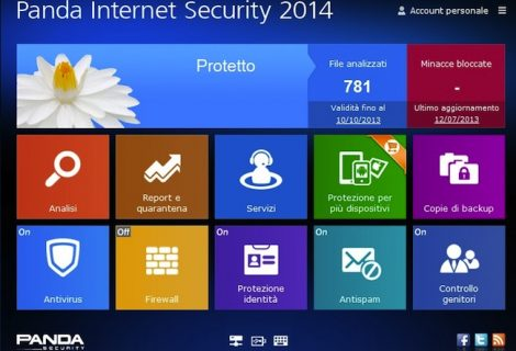 Recensione Panda Internet Security 2014