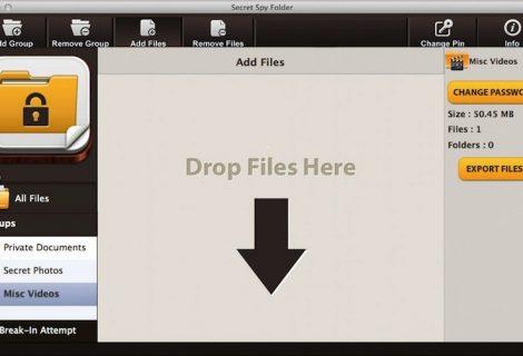 Creare cartelle protette sul Mac con Secret Spy Folder
