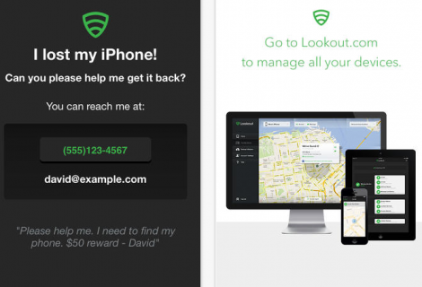 Lookout app: antifurto, gestione privacy e backup per iOS e Android