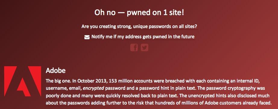Verificare se la mail o la password stata rubata i tool for Mail il tuo account e stato hackerato