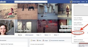 Facebook. Come cancellare la cronologia delle ricerche