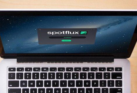 Spotflux. Buon software per navigare anonimi su internet