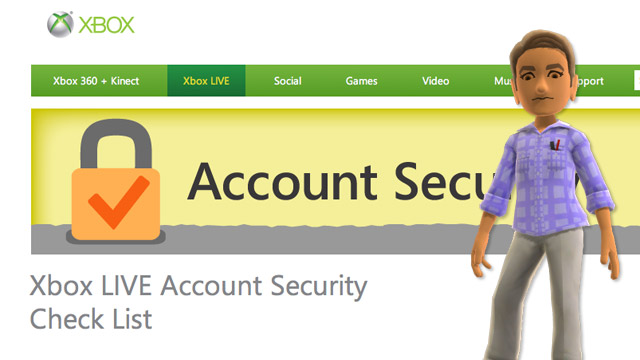 Xbox Live: proteggere sicurezza e privacy di un account