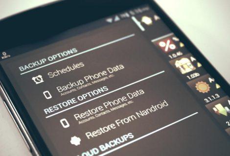 Eseguire il backup su Android