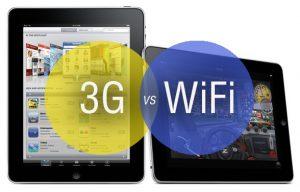 Quando si acquista un iPad è possibile scegliere tra un modello solo WiFi o anche 3G