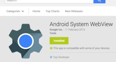Android System WebView, aperte le iscrizioni al programma beta