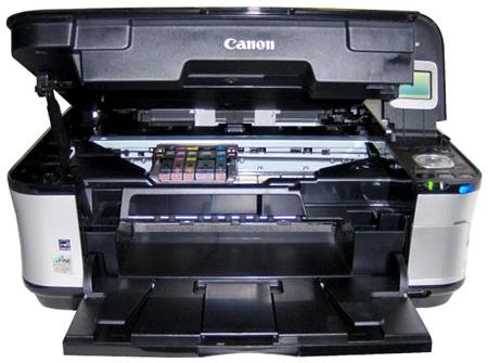 Lo scanner della stampante Canon Pixma MP560