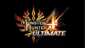 Logo videogame monster hunter 4