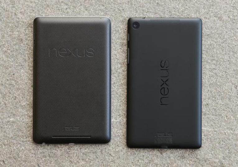 Dettaglio scocca posteriore Nexus 7