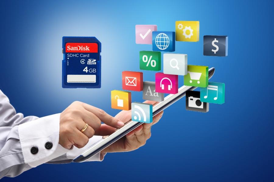 Installare un'app Windows su scheda SD o altro disco