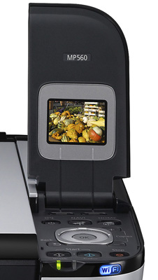 Il display LCD a colori con tutte le funzionalità per la stampa