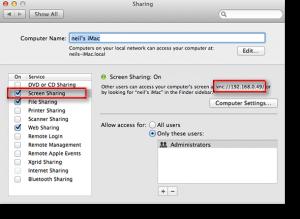 Per creare attivare il controllo a distanza è possibile utilizzare la funzione di condivisione dello schermo.