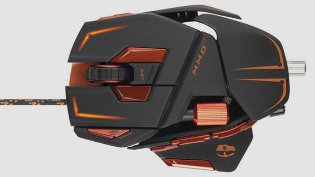 Cyborg Mad Catz MMO 7, mouse per videogiochi ultravanzato