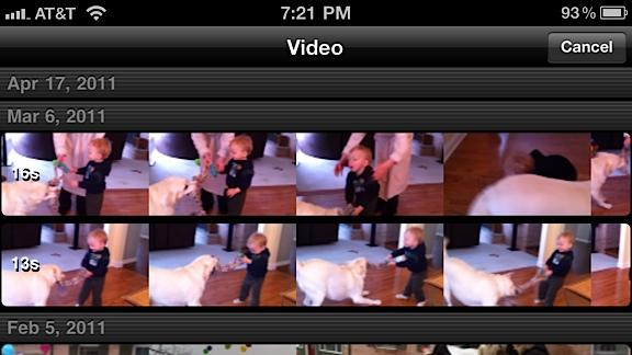 Video iphone: meglio cambiare l'angolazione