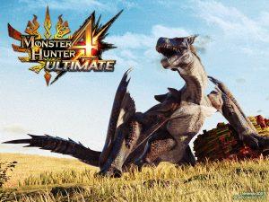 Uno dei mostri del videogioco Monster Hunter 4
