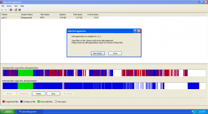 La deframmentazione permette di pulire il pc rimuovendo i vuoti tra i pacchetti dati e accelerando quindi i processi.