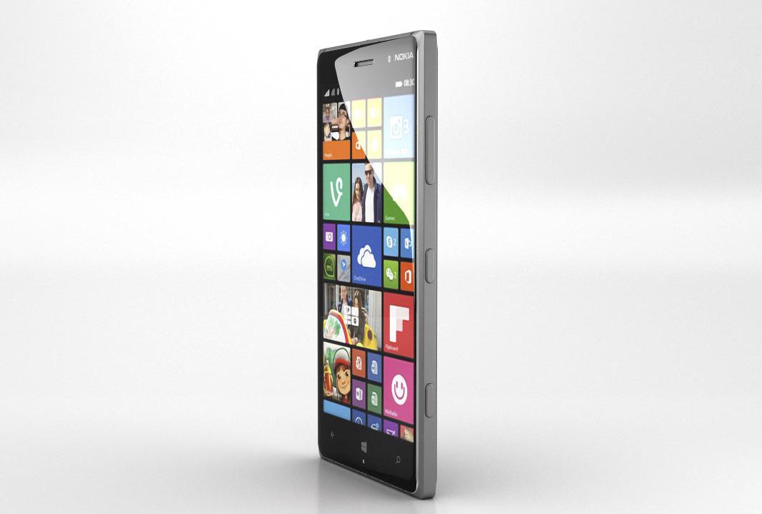 Caratteristiche Nokia Lumia 830: vista verticale