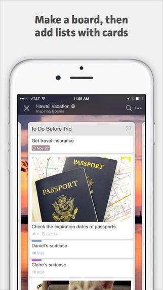 Le migliori applicazioni per accelerare lo smartphone: Trello
