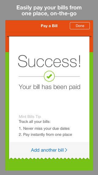 Le migliori applicazioni per accelerare lo smartphone: Mint Bills & Money
