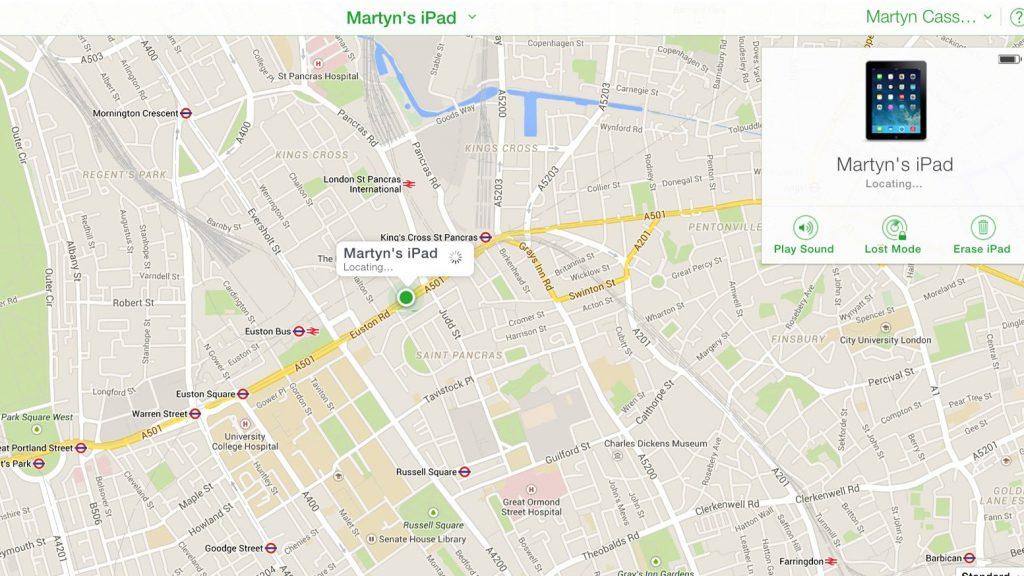 Find my iPhone da Web: il sito iCloud