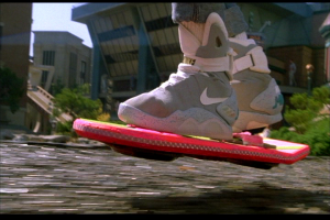 Skateboard fluttuante Back to the future II