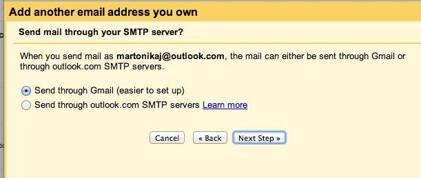 Usare Gmail per spedire e ricevere mail da altri account: come scegliere il server SMTP