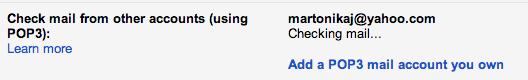 Usare Gmail per spedire e ricevere mail da altri account: l'aggiunta di un account POP3