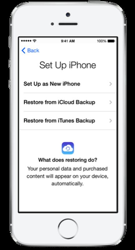 Come trasferire i contatti da un iPhone all'altro: ripristinare il backup da iTunes