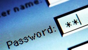 sicurezza immissione password
