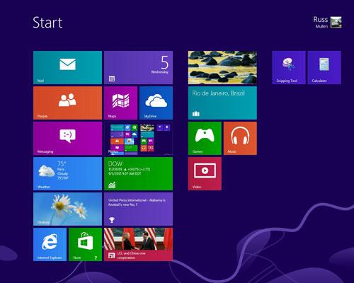 Personalizzare la schermata Start di Windows 8: avvicina le tiles correlate
