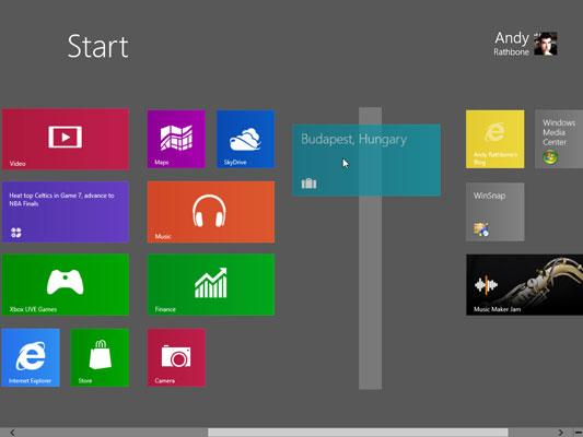 Personalizzare la schermata Start di Windows 8: gestisci i nuovi gruppi di tiles
