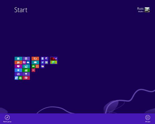 Personalizzare la schermata Start di Windows 8: lavorare sui gruppi di tiles