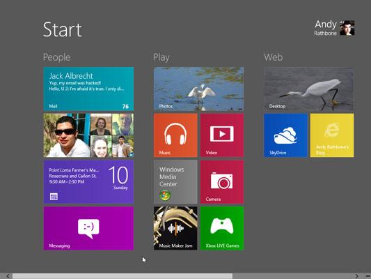 Personalizzare la schermata Start di Windows 8: ecco uno spazio di lavoro su misura