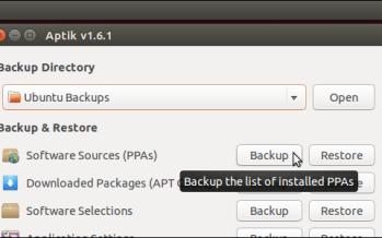 Eseguire un backup dei dati con Linux Ubuntu
