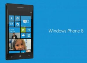Smartphone windows 8