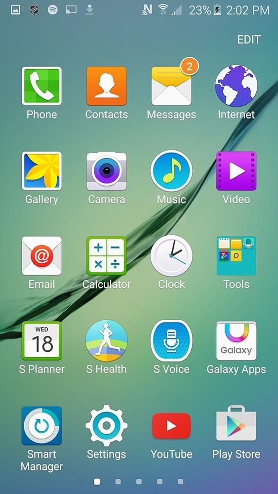 Samsung Galaxy S6: software reattivo e sistema operativo Android Lollipop.