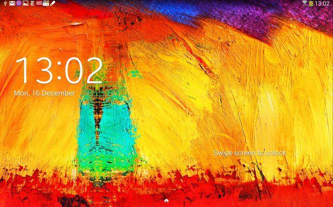 Samsung Galaxy Note 10.1: lo schermo rappresenta la caratteristica più brillante del dispositivo.