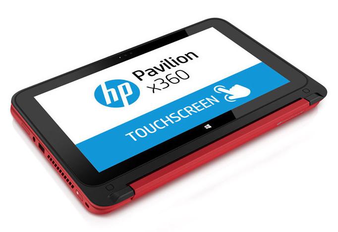 PC Hp Pavilion x360: nella versione tablet si evidenziano i limiti ergonomici del dispositivo.