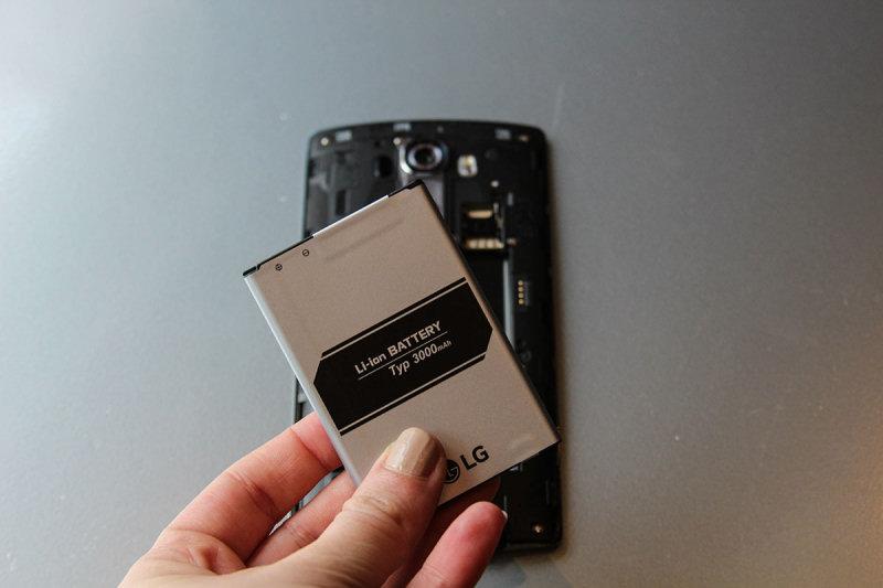 Recensione LG G4: la batteria da 3000 mAh assicura prestazioni in linea con gli smartphone della concorrenza